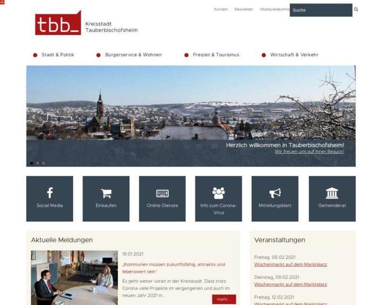 Screenshot (middle) http://www.tauberbischofsheim.de/