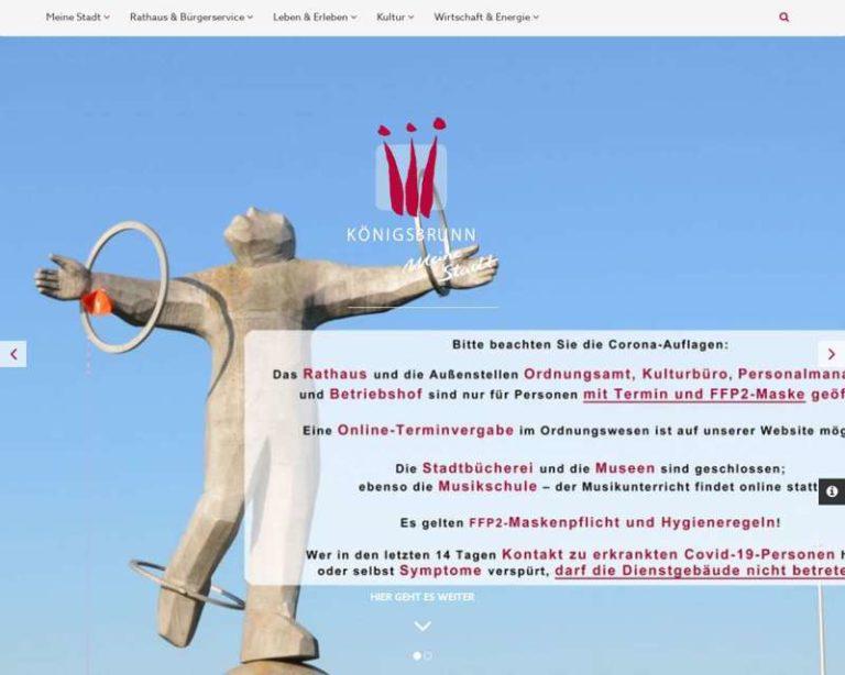 Screenshot (middle) http://www.koenigsbrunn.de