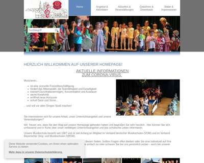Screenshot (small) http://www.musikschule-alzenau.de