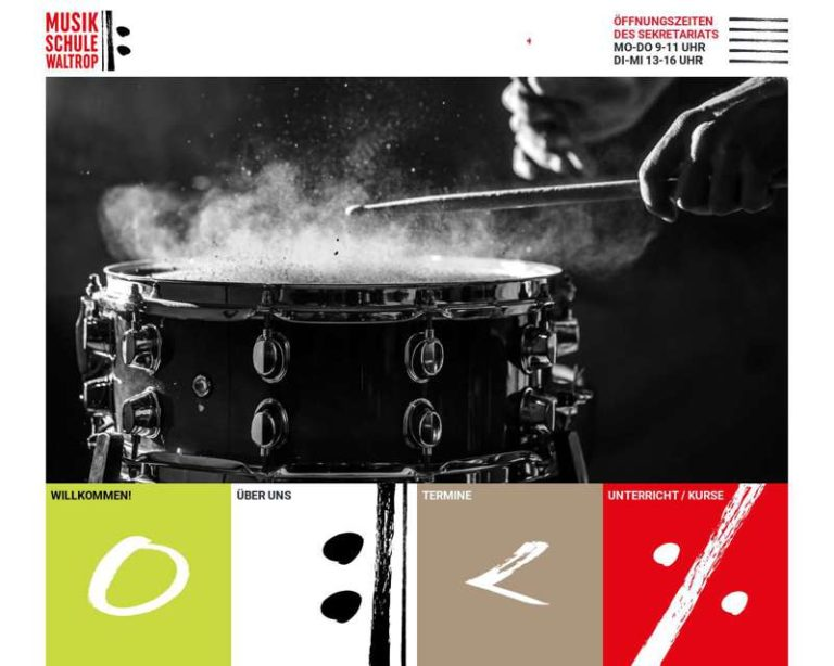 Screenshot (middle) http://www.musikschule-waltrop.de