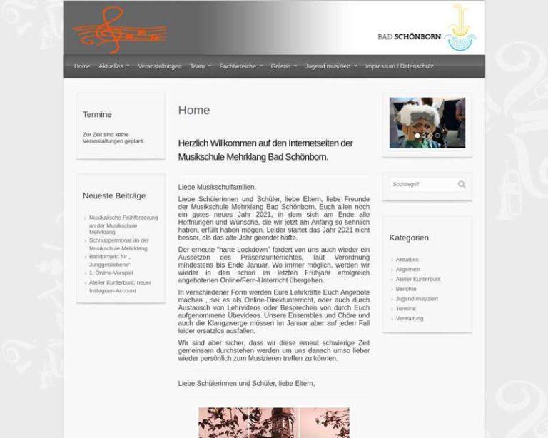 Screenshot (middle) http://www.jugendmusikschule.com