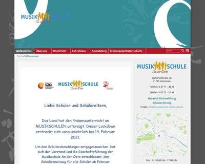 Screenshot (small) http://www.musikschule-anderoste.de