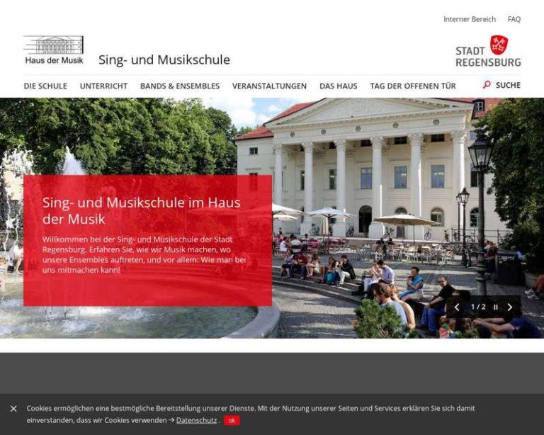 Screenshot (middle) http://www.regensburg.de/singundmusikschule
