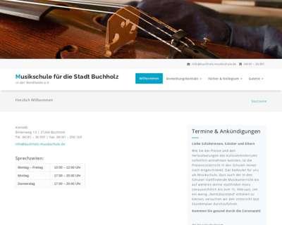 Screenshot (small) http://www.buchholz-musikschule.de