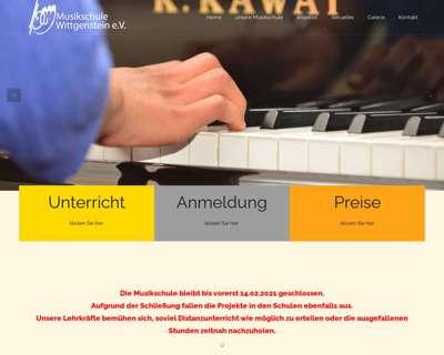 Screenshot (small) http://www.musikschule-wittgenstein.de