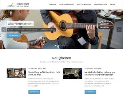 Screenshot (small) http://www.musikschule-mittlere-nahe.de