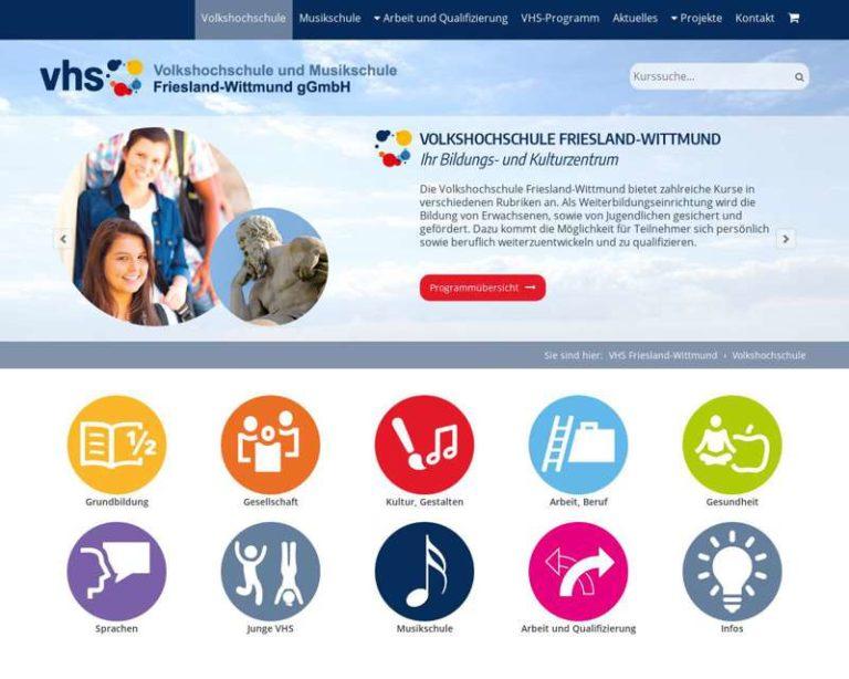 Screenshot (middle) http://www.vhs-frieslandwittmund.de