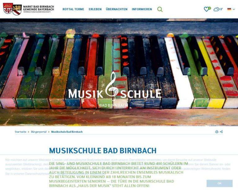 Screenshot (middle) http://www.musikschule-badbirnbach.de