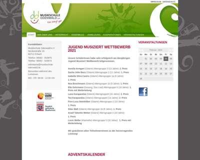 Screenshot (small) http://www.musikschule-odenwald.de