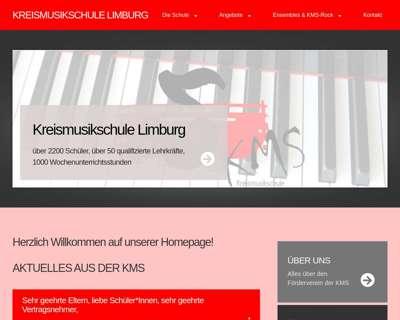 Screenshot (small) http://www.kms-limburg.de
