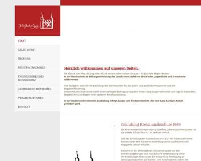 Screenshot (small) http://www.musikschule-merseburg.de/