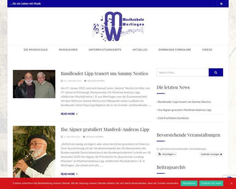 Screenshot (middle) http://www.musikschulewertingen.de
