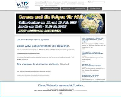 Screenshot (small) http://www.wbz-ingelheim.de