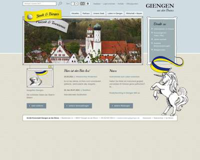 Screenshot (small) http://www.giengen.de