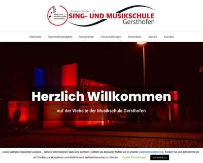 Screenshot (small) http://www.musikschule-gersthofen.de