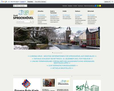 Screenshot (small) http://www.sprockhoevel.de