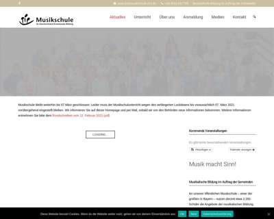 Screenshot (small) http://www.musikschule-vhs.de