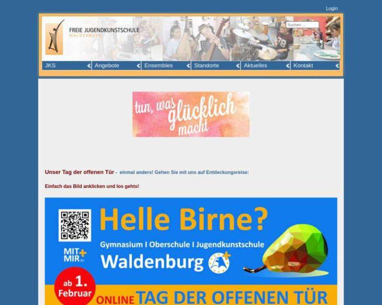 Screenshot (middle) http://www.jks-waldenburg.de