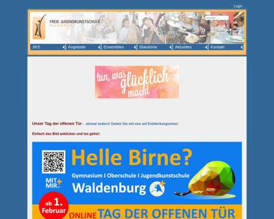 Screenshot (small) http://www.jks-waldenburg.de