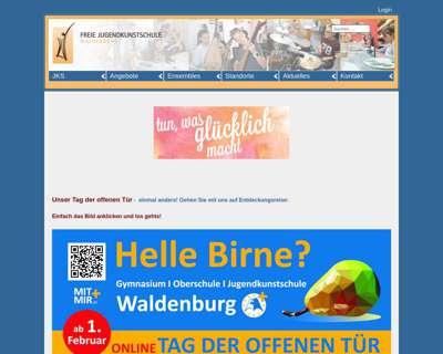 Screenshot (small) http://www.jks-waldenburg.de