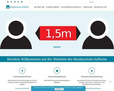 Screenshot (small) http://www.die-musikschule-hofheim.de