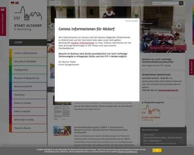 Screenshot (small) http://www.altdorf.de