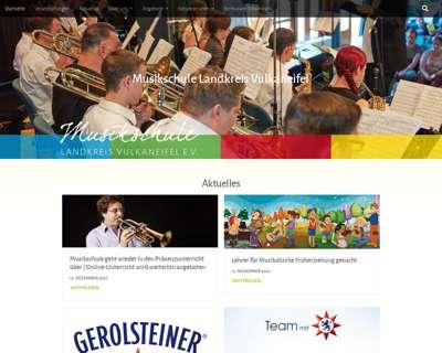 Screenshot (small) http://www.musikschule-vulkaneifel.de