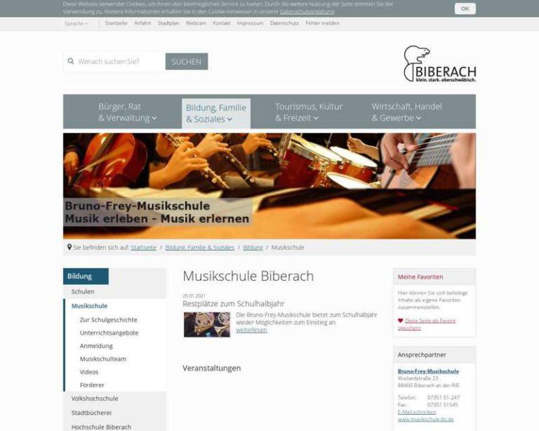 Screenshot (middle) http://www.musikschule-bc.de