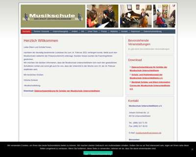 Screenshot (small) https://musikschule-unterschleissheim.de/