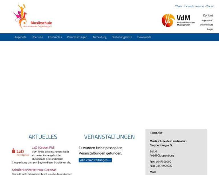 Screenshot (middle) http://www.kms-clp.de