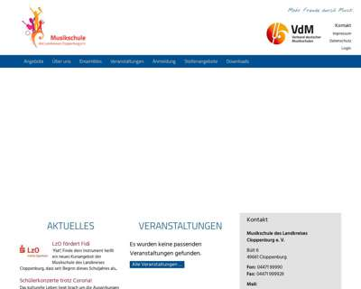 Screenshot (small) http://www.kms-clp.de