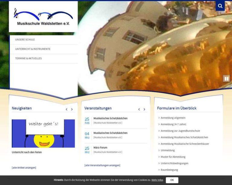 Screenshot (middle) http://www.musikschule-waldstetten.de