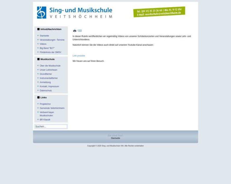 Screenshot (middle) http://www.musikschule.veitshoechheim.de