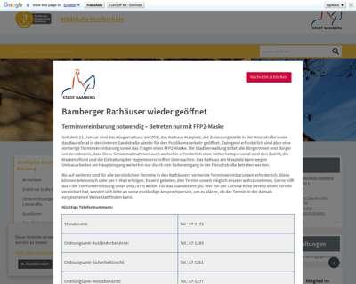 Screenshot (small) http://www.musikschule.bamberg.de
