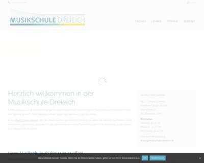 Screenshot (small) http://www.musikschule-dreieich.de
