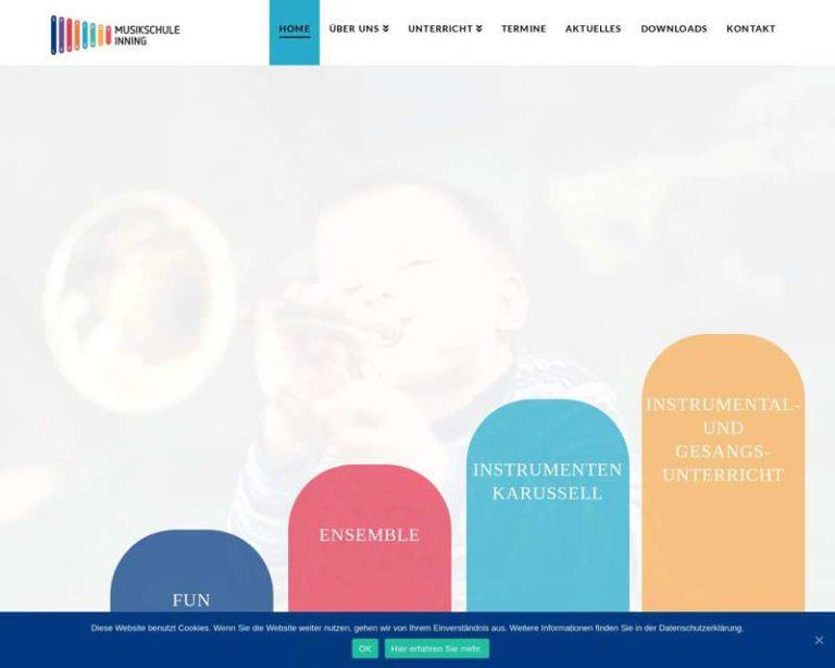 Screenshot (middle) http://www.musikschule-inning.de