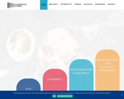 Screenshot (small) http://www.musikschule-inning.de