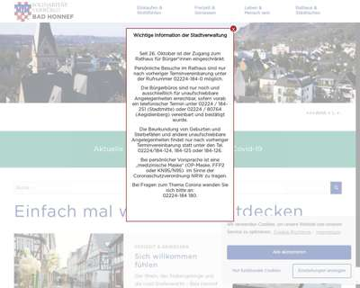 Screenshot (small) http://www.bad-honnef.de