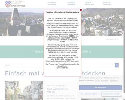 Screenshot (small) http://www.bad-honnef.de