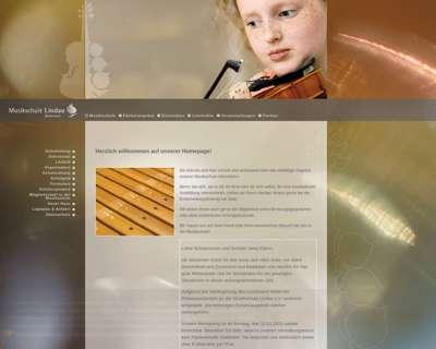 Screenshot (small) http://www.musikschule-lindau.de