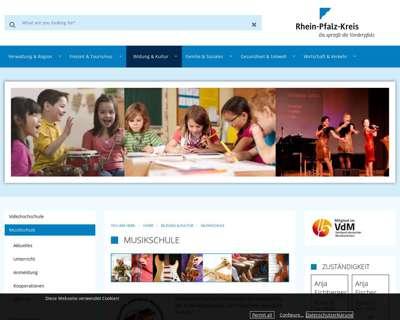 Screenshot (small) http://www.kreismusikschule-rp.de