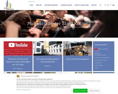Screenshot (small) http://www.musikschulekoblenz.de