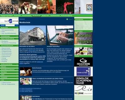 Screenshot (small) http://www.musikschule-muelheim.de