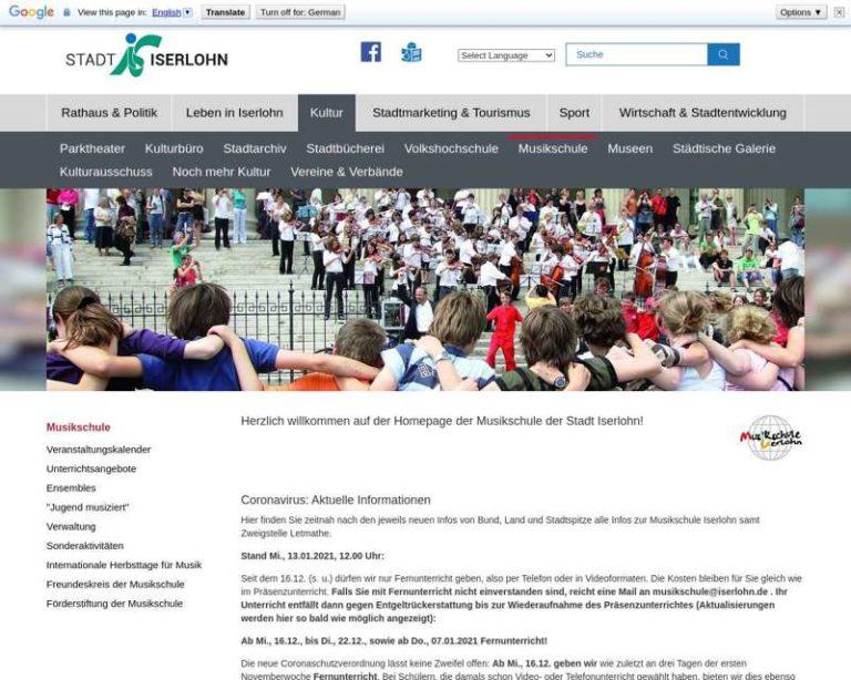 Screenshot (middle) http://www.musikschule.iserlohn.de