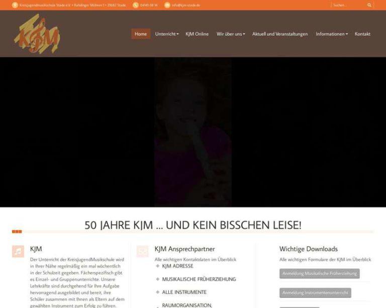 Screenshot (middle) http://www.kjm-stade.de