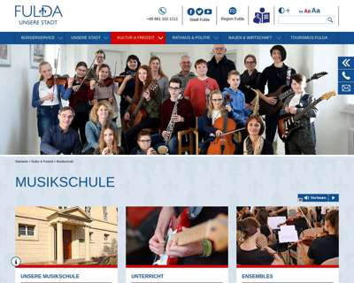 Screenshot (small) http://www.musik-fulda.de