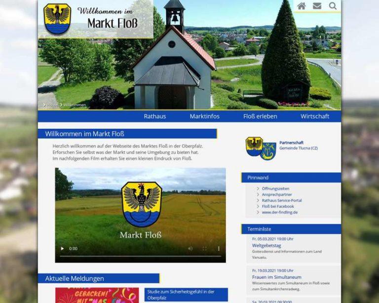 Screenshot (middle) http://www.floss.de