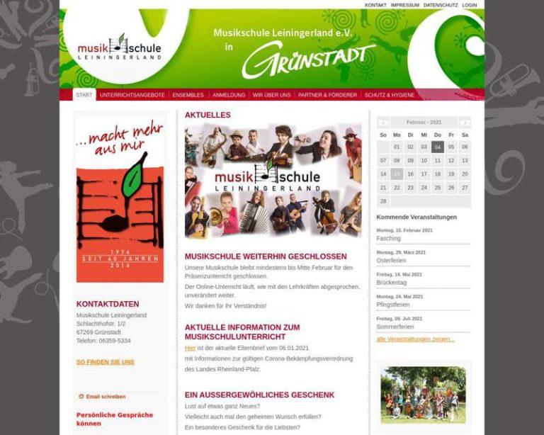 Screenshot (middle) http://www.musikschule-leiningerland.de