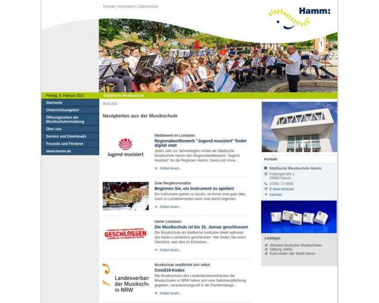 Screenshot (middle) http://www.hamm.de/musikschule
