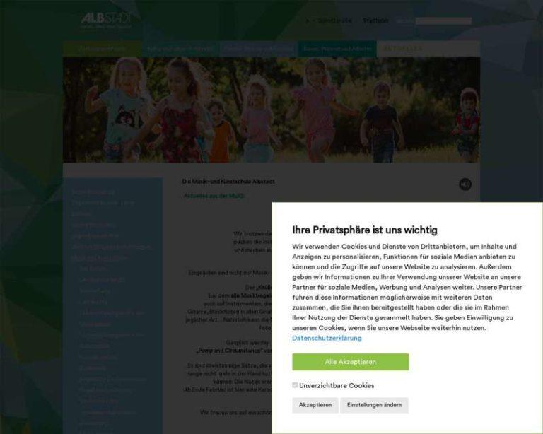 Screenshot (middle) http://www.muks-albstadt.de